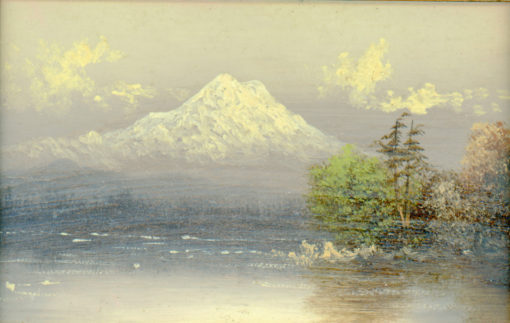 Credit: Mt.Hood by Eliza Barchus (unsigned)